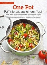 Titelbild der Ausgabe 5/2019 von Familienküche: One Pot: Raffiniertes aus einem Topf. Zeitschriften als Abo oder epaper bei United Kiosk online kaufen.