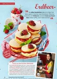 Titelbild der Ausgabe 5/2019 von BACKSCHULE: Erdbeer-Whoopies leicht gemacht. Zeitschriften als Abo oder epaper bei United Kiosk online kaufen.