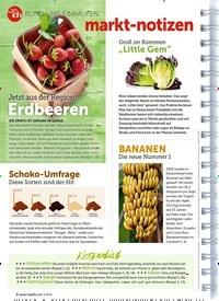 Titelbild der Ausgabe 6/2019 von RUND UMS EINKAUFEN: markt-notizen. Zeitschriften als Abo oder epaper bei United Kiosk online kaufen.