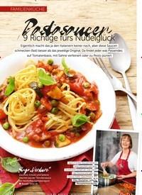 Titelbild der Ausgabe 6/2019 von FAMILIENKÜCHE: Pastasaucen: 9 Richtige fürs Nudelglück. Zeitschriften als Abo oder epaper bei United Kiosk online kaufen.