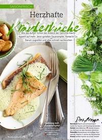 Titelbild der Ausgabe 6/2019 von SAISONFRISCH: Herzhafte Kräuterküche. Zeitschriften als Abo oder epaper bei United Kiosk online kaufen.