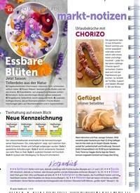 Titelbild der Ausgabe 7/2019 von RUND UMS EINKAUFEN: markt-notizen. Zeitschriften als Abo oder epaper bei United Kiosk online kaufen.