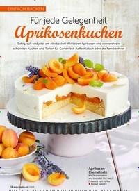 Titelbild der Ausgabe 7/2019 von einfach backen: Für jede Gelegenheit: Aprikosenkuchen. Zeitschriften als Abo oder epaper bei United Kiosk online kaufen.