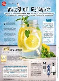 Titelbild der Ausgabe 7/2019 von GETRÄNKE: WASSER MIT GESCHMACK. Zeitschriften als Abo oder epaper bei United Kiosk online kaufen.