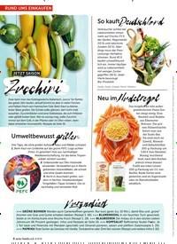Titelbild der Ausgabe 8/2019 von RUND UMS EINKAUFEN. Zeitschriften als Abo oder epaper bei United Kiosk online kaufen.