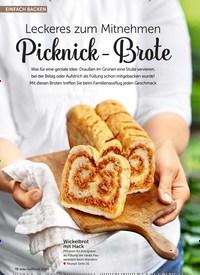 Titelbild der Ausgabe 8/2019 von Leckeres zum Mitnehmen: Picknick-Brote. Zeitschriften als Abo oder epaper bei United Kiosk online kaufen.