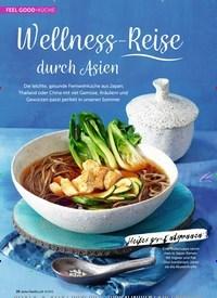 Titelbild der Ausgabe 8/2019 von FEEL GOOD-KÜCHE: Wellness-Reise durch Asien. Zeitschriften als Abo oder epaper bei United Kiosk online kaufen.