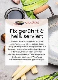 Titelbild der Ausgabe 4/2019 von Fix gerührt & heiß serviert. Zeitschriften als Abo oder epaper bei United Kiosk online kaufen.