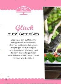 Titelbild der Ausgabe 8/2019 von Süßes Buffet: Glück zum Genießen. Zeitschriften als Abo oder epaper bei United Kiosk online kaufen.
