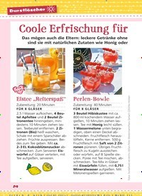 Titelbild der Ausgabe 10/2019 von Durstlöscher: Coole Erfrischung für heiße Tage. Zeitschriften als Abo oder epaper bei United Kiosk online kaufen.
