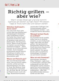 Titelbild der Ausgabe 11/2019 von GUT ZU WISSEN: GUT ZU WISSEN: Richtig grillen – aber wie?. Zeitschriften als Abo oder epaper bei United Kiosk online kaufen.