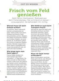 Titelbild der Ausgabe 13/2019 von GUT ZU WISSEN: Frisch vom Feld genießen. Zeitschriften als Abo oder epaper bei United Kiosk online kaufen.