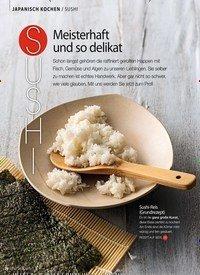Titelbild der Ausgabe 3/2019 von JAPANISCH KOCHEN / SUSHI: SUSHI: Meisterhaft und so delikat. Zeitschriften als Abo oder epaper bei United Kiosk online kaufen.