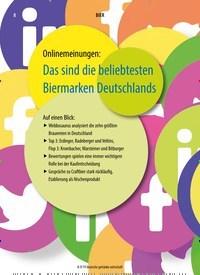 Titelbild der Ausgabe 9/2019 von Onlinemeinungen: Das sind die beliebtesten Biermarken Deutschlands. Zeitschriften als Abo oder epaper bei United Kiosk online kaufen.