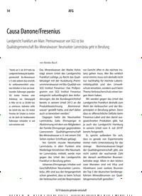 Titelbild der Ausgabe 10/2019 von Causa Danone/Fresenius. Zeitschriften als Abo oder epaper bei United Kiosk online kaufen.