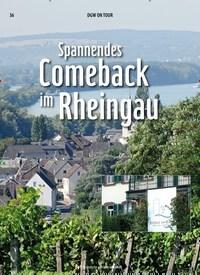 Titelbild der Ausgabe 10/2019 von Spannendes Comeback im Rheingau. Zeitschriften als Abo oder epaper bei United Kiosk online kaufen.