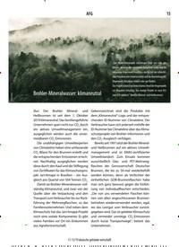 Titelbild der Ausgabe 12/2019 von Brohler-Mineralwasser: klimaneutral. Zeitschriften als Abo oder epaper bei United Kiosk online kaufen.