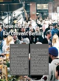 Titelbild der Ausgabe 12/2019 von Neue Ära für Bar Convent Berlin. Zeitschriften als Abo oder epaper bei United Kiosk online kaufen.