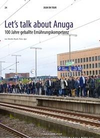 Titelbild der Ausgabe 12/2019 von Let's talk about Anuga. Zeitschriften als Abo oder epaper bei United Kiosk online kaufen.