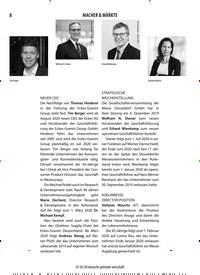 Titelbild der Ausgabe 2/2020 von Macher & Märkte. Zeitschriften als Abo oder epaper bei United Kiosk online kaufen.