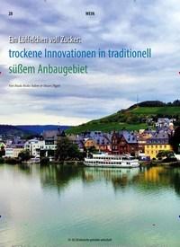 Titelbild der Ausgabe 2/2020 von Ein Löffelchen voll Zucker: trockene Innovationen in traditionell süßem Anbaugebiet. Zeitschriften als Abo oder epaper bei United Kiosk online kaufen.