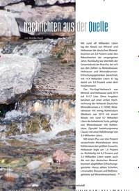 Titelbild der Ausgabe 3/2020 von Nachrichten aus der Quelle. Zeitschriften als Abo oder epaper bei United Kiosk online kaufen.