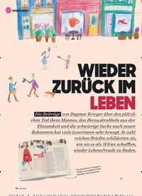 Titelbild der Ausgabe 9/2019 von WIEDER ZURÜCK IM LEBEN. Zeitschriften als Abo oder epaper bei United Kiosk online kaufen.