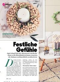 Titelbild der Ausgabe 12/2019 von Festliche Gefühle. Zeitschriften als Abo oder epaper bei United Kiosk online kaufen.