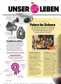 Titelbild der Ausgabe 1/2020 von UNSER LEBEN im Januar. Zeitschriften als Abo oder epaper bei United Kiosk online kaufen.