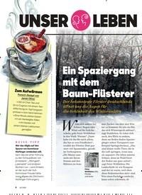 Titelbild der Ausgabe 2/2020 von UNSER LEBEN im Februar. Zeitschriften als Abo oder epaper bei United Kiosk online kaufen.
