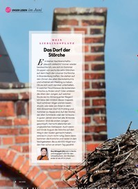 Titelbild der Ausgabe 6/2020 von Das Dorf der Störche. Zeitschriften als Abo oder epaper bei United Kiosk online kaufen.