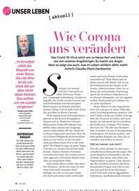 Titelbild der Ausgabe 6/2020 von Wie Corona uns verändert. Zeitschriften als Abo oder epaper bei United Kiosk online kaufen.