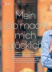 Titelbild der Ausgabe 6/2020 von Mein Job macht mich glücklich. Zeitschriften als Abo oder epaper bei United Kiosk online kaufen.