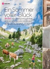 Titelbild der Ausgabe 6/2020 von Ein Sommer voller Glück. Zeitschriften als Abo oder epaper bei United Kiosk online kaufen.