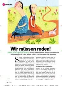 Titelbild der Ausgabe 9/2020 von UNSER LEBEN: Wir m?ssen reden!. Zeitschriften als Abo oder epaper bei United Kiosk online kaufen.