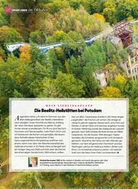 Titelbild der Ausgabe 10/2020 von UNSER LEBEN im Oktober: MEIN LIEBLING SPLATZ: Die Beelitz-Heilstätten bei Potsdam. Zeitschriften als Abo oder epaper bei United Kiosk online kaufen.
