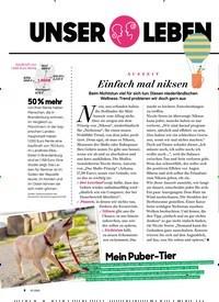 Titelbild der Ausgabe 10/2020 von UNSER LEBEN im Oktober. Zeitschriften als Abo oder epaper bei United Kiosk online kaufen.