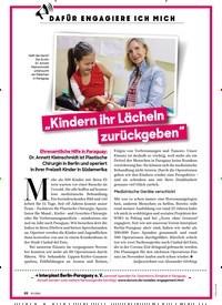 """Titelbild der Ausgabe 10/2020 von """"Kindern ihr Lächeln Zurückgeben"""". Zeitschriften als Abo oder epaper bei United Kiosk online kaufen."""