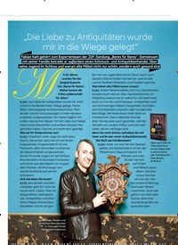 """Titelbild der Ausgabe 11/2020 von """"Die Liebe zu Antiquitäten wurde mir in die Wiege gelegt"""". Zeitschriften als Abo oder epaper bei United Kiosk online kaufen."""