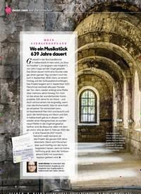 Titelbild der Ausgabe 12/2020 von UNSER LEBEN im Dezember: MEIN LIEBLINGSPLATZ: Wo ein Musikstück 639 Jahre dauert. Zeitschriften als Abo oder epaper bei United Kiosk online kaufen.