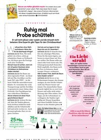 Titelbild der Ausgabe 12/2020 von INTERVIEW: Ruhig mal Probe schütteln. Zeitschriften als Abo oder epaper bei United Kiosk online kaufen.