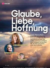 Titelbild der Ausgabe 12/2020 von Glaube, Liebe, Hoffnung. Zeitschriften als Abo oder epaper bei United Kiosk online kaufen.