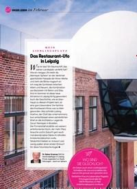 Titelbild der Ausgabe 2/2021 von im Februar: Das Restaurant-Ufo in Leipzig. Zeitschriften als Abo oder epaper bei United Kiosk online kaufen.