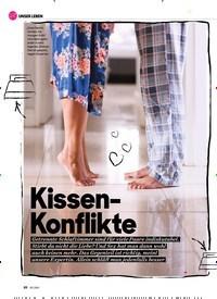 Titelbild der Ausgabe 2/2021 von Kissen- Konflikte. Zeitschriften als Abo oder epaper bei United Kiosk online kaufen.