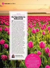 Titelbild der Ausgabe 3/2021 von im März: MEIN LIEBLINGSPLATZ: Die Tulpenfelder im Bollenstreek. Zeitschriften als Abo oder epaper bei United Kiosk online kaufen.
