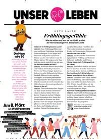Titelbild der Ausgabe 3/2021 von im März: GUTE LAUNE: Frühlingsgefühle. Zeitschriften als Abo oder epaper bei United Kiosk online kaufen.