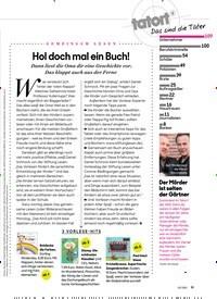 Titelbild der Ausgabe 3/2021 von GEMEINSAM LESEN: Hol doch mal ein Buch!. Zeitschriften als Abo oder epaper bei United Kiosk online kaufen.