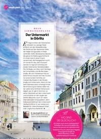 Titelbild der Ausgabe 4/2021 von MEIN LIEBLINGSPLATZ: Der Untermarkt in Görlitz. Zeitschriften als Abo oder epaper bei United Kiosk online kaufen.