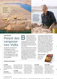 Titelbild der Ausgabe 9/2019 von ARCHÄOLOGIE: Palast des vergessenen Volks. Zeitschriften als Abo oder epaper bei United Kiosk online kaufen.