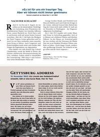 Titelbild der Ausgabe 11/2019 von Gettysburg address. Zeitschriften als Abo oder epaper bei United Kiosk online kaufen.
